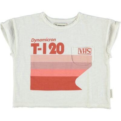 puipiuchick t-shirt met multi-color print