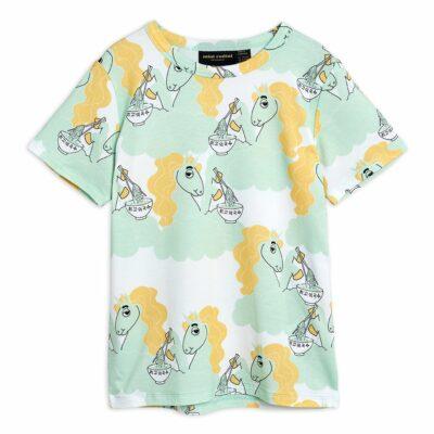 mini rodini unicorn noodles aop t-shirt