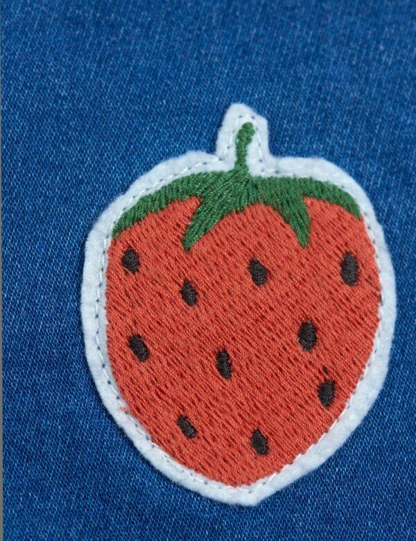 2123010360-mini rodini denim strawberry shorts