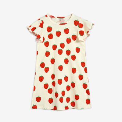 mini rodini strawberry jurk dress aop