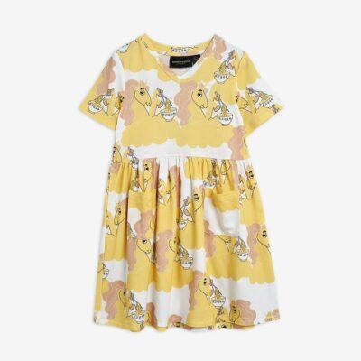 mini rodini unicorn dress recycled polyester