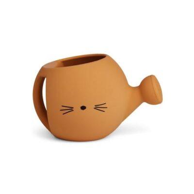 Lyon watering can gieter mustard cat liewood
