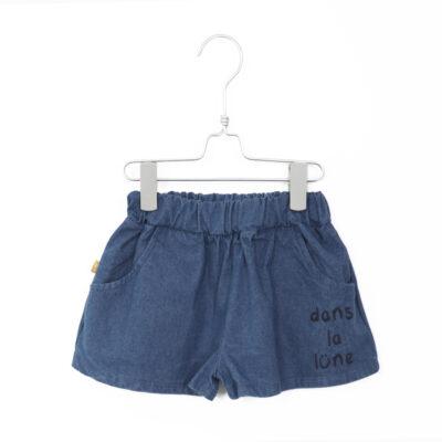 lötiekids wide denim shorts