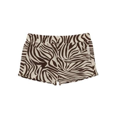 little indians zebra shorts kortebroek