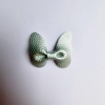 haarspeldjes vlinder metallic mint
