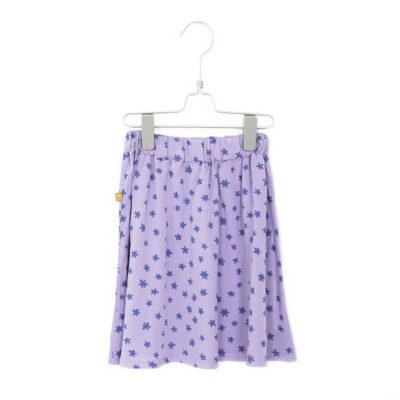 lötiekids Lotiekids geweven rok lila / mauve. Deze rok is gemaakt van bio-katoen.