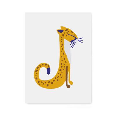 abc-letterkaart J