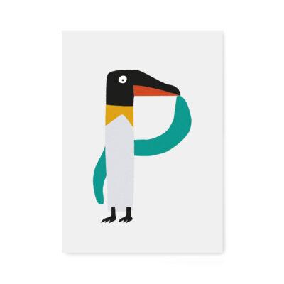 abc-letterkaart P