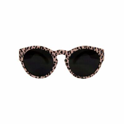 vanpauline zonnebril pink leopard small