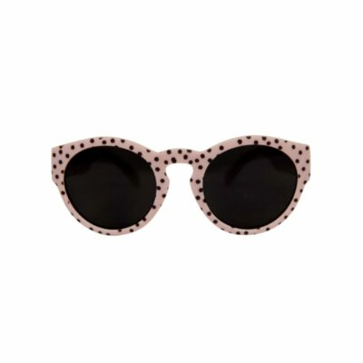 vanpauline zonnebril pink dots junior