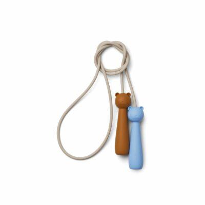 liewood Birdie skipping rope - Sky blue multi mix