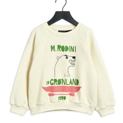 mini rodini polar bear sweatshirt