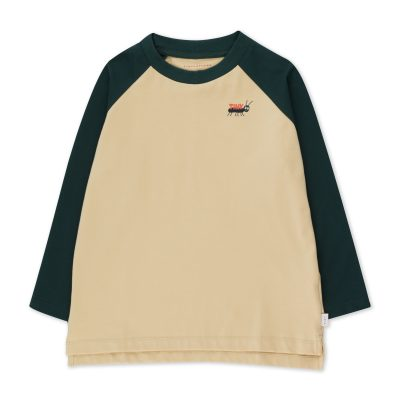 tiny cottons tiny ants color block long sleeve