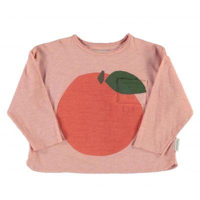 piupiuchick Longsleeve met peach print