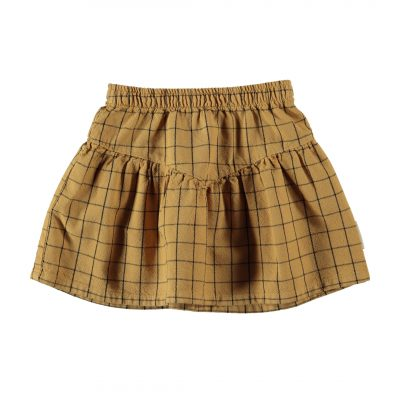 piupiuchick kort rokje skirt camel