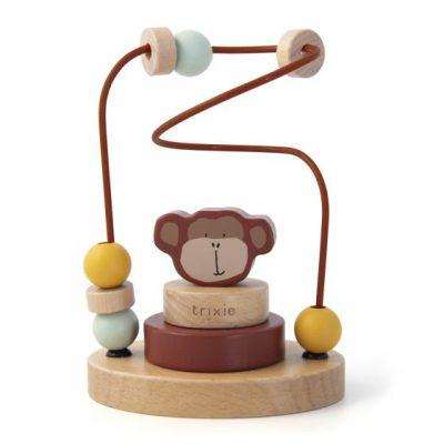 trixie Houten kralenframe - Mr. Monkey
