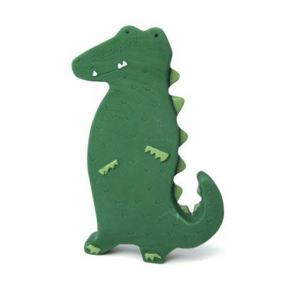 trixie Natuurlijk rubber speeltje - Mr. Crocodile