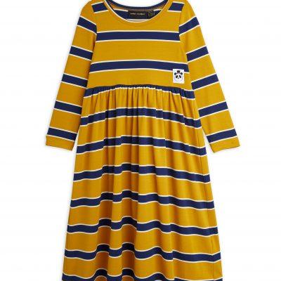 mini rodini Stripe Long Sleeve dress