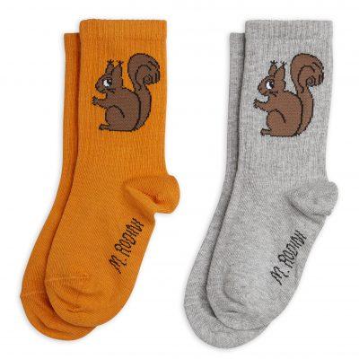 mini rodini Squirrel 2-pack Socks