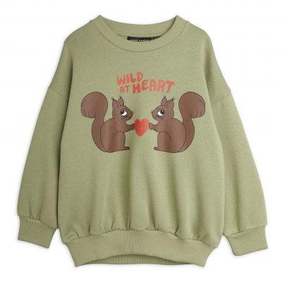 mini rodini Wild At Heart Sweatshirt groen