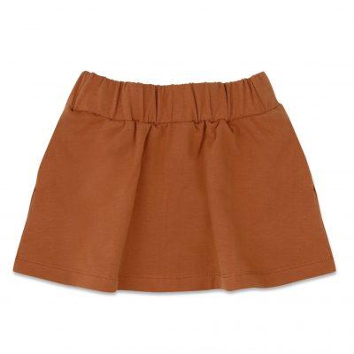 phil & Phae Classic skirt gingerbread. Mix en match met deze klassieker. Mooi maillot van mp eronder en de outfit is helemaal af.
