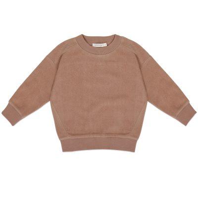 Oversized teddy sweater