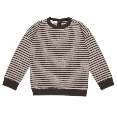 Sweater loopy stripes