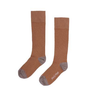 phil & phae ribbed knee socks hazel