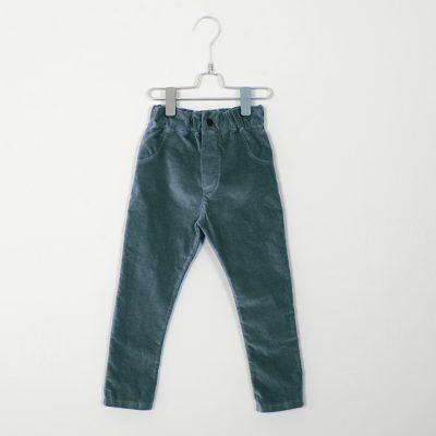 lotiekids 5-pocket (cotton velvet) groen