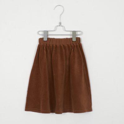 lotiekids Corduroy Skirt cinnemon