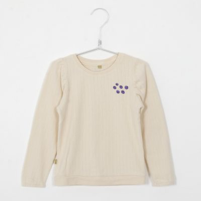 W21-83-1536lotiekids blouse long sleeve blueberry cream
