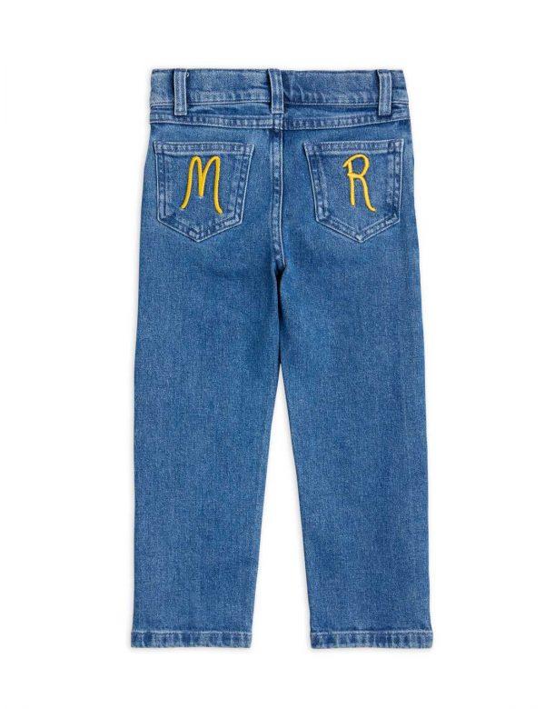 mini rodini Snow Straight denim jeans