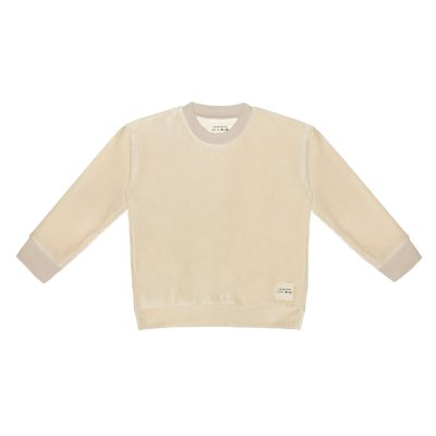 little Indians Boxy Sweater Corduroy - Cement
