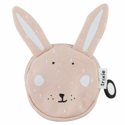 trixie baby roze portemonnee mrs. Rabbit