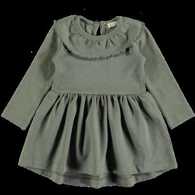 pexi Lexi dress ruffle algave green