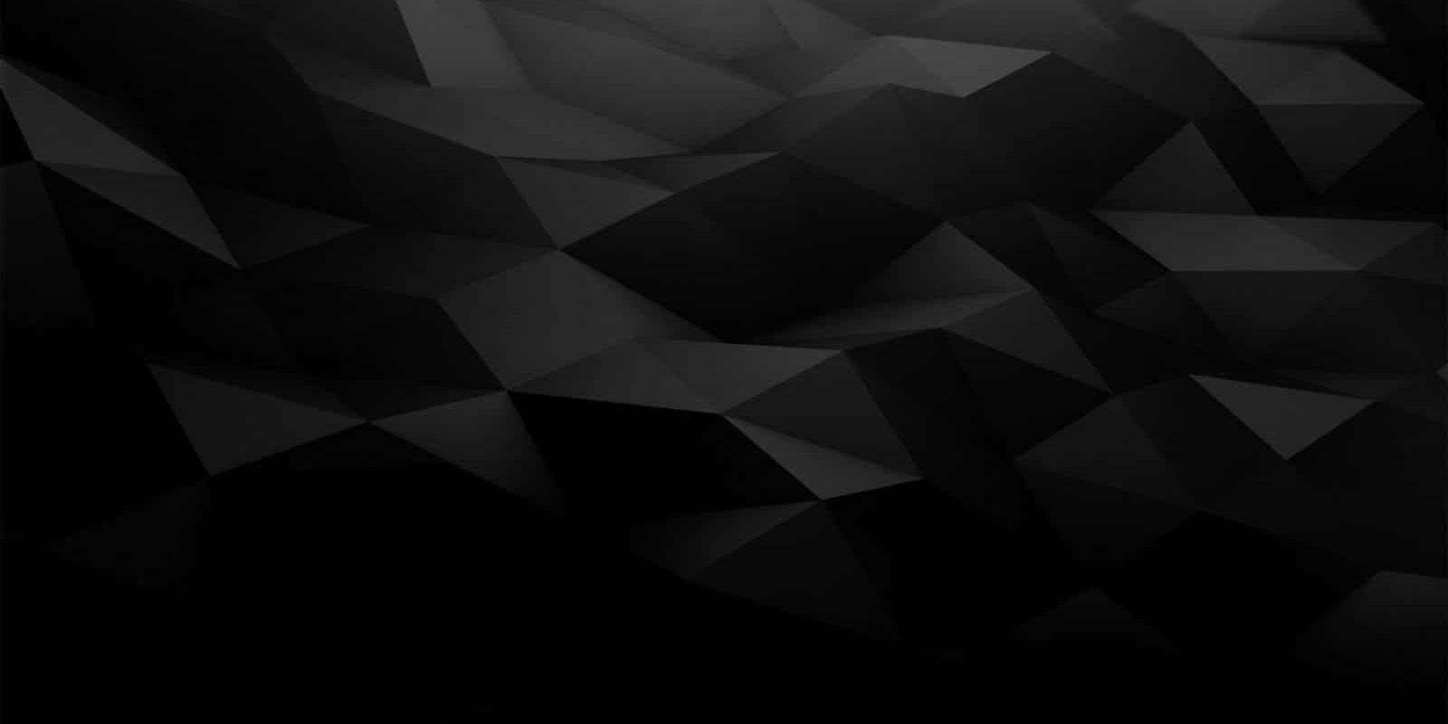 black poly background
