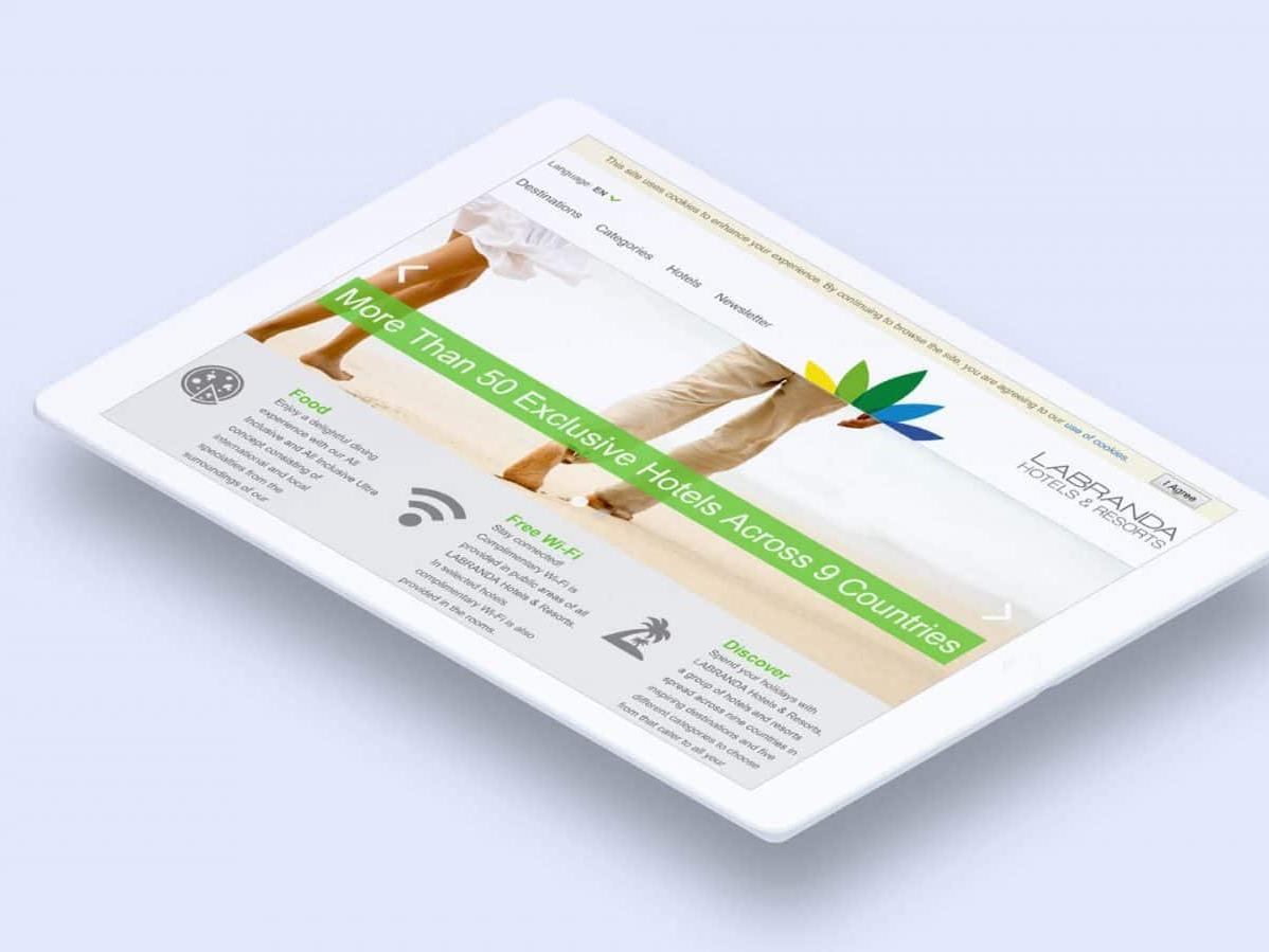 Labranda Hotels iPad_02