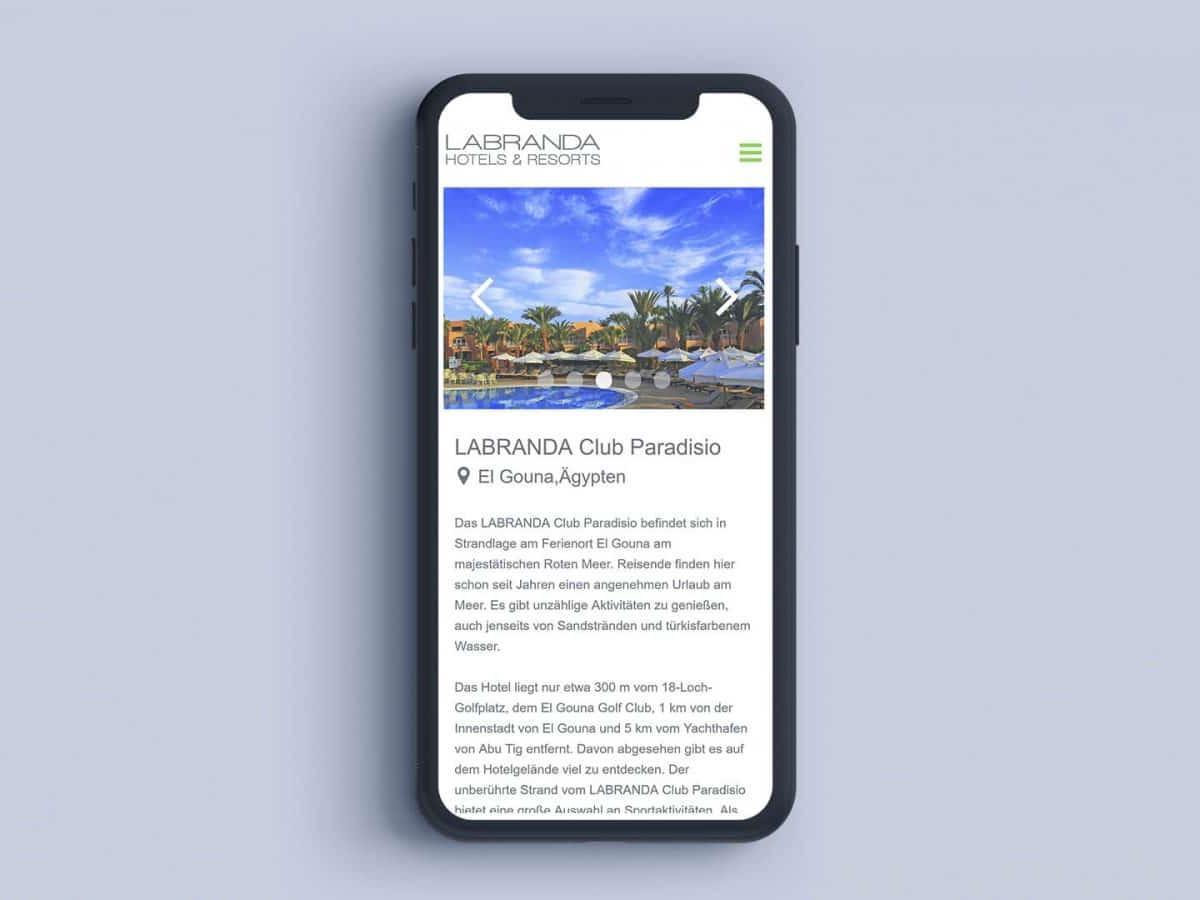 Labranda Hotels iphoneX Mockup_02