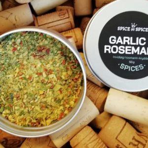 krydderi, rosmarin, creme fraiche, opskrifter, gourmet