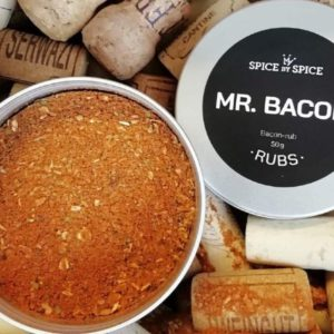 baconkrydderi, bacon, bbq, rub, spice, gourmet, design, inspiration, mad, røgsmag