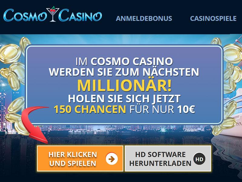 Die Cosmo Casino Slots wurden zur besten Spielautomaten Website ernannt