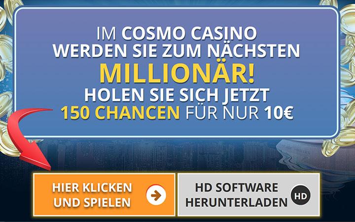 Freispiele bei Cosmo Casino