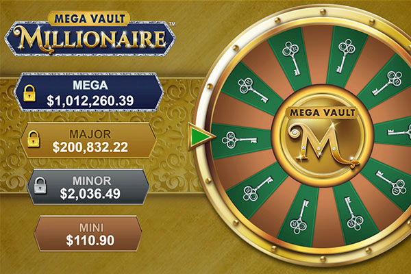 Spielautomat Mega Vault Millionaire - Der Star bei Cosmo Casino