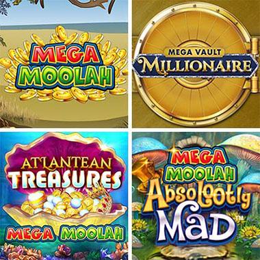 Versionen der Mega Moolah-Spielreihe