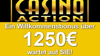 Bonusse bei Casino Action in Österreich