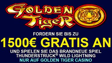 Golden Tiger und Spielautomaten Bonusse