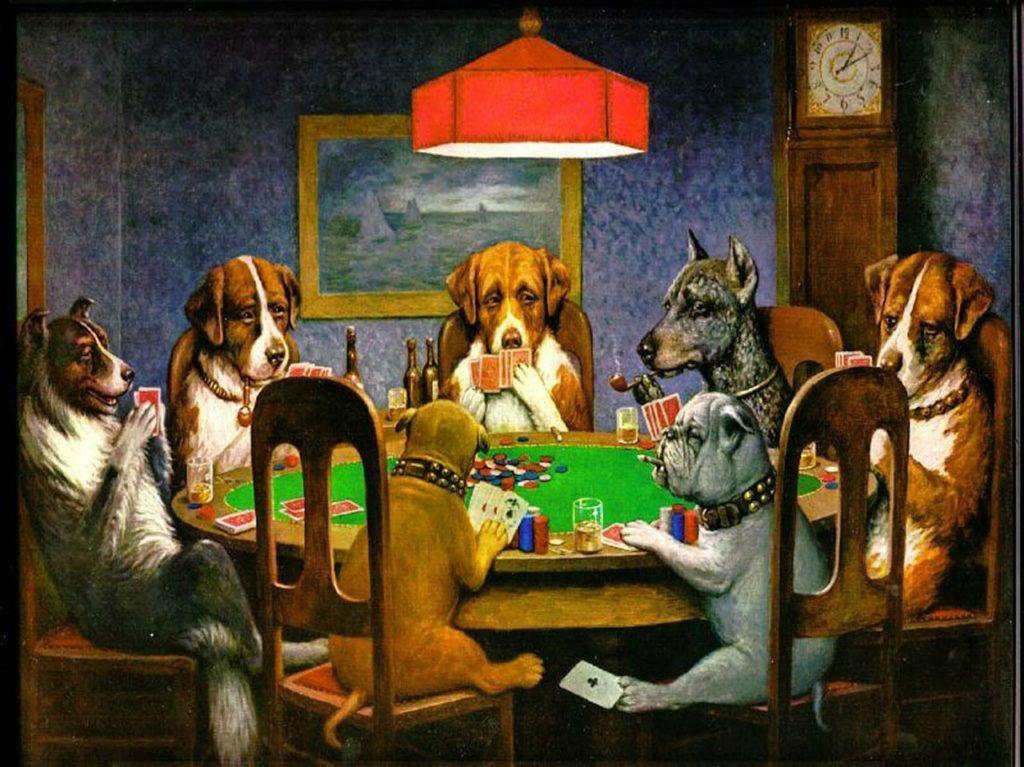 Poker med vennerne