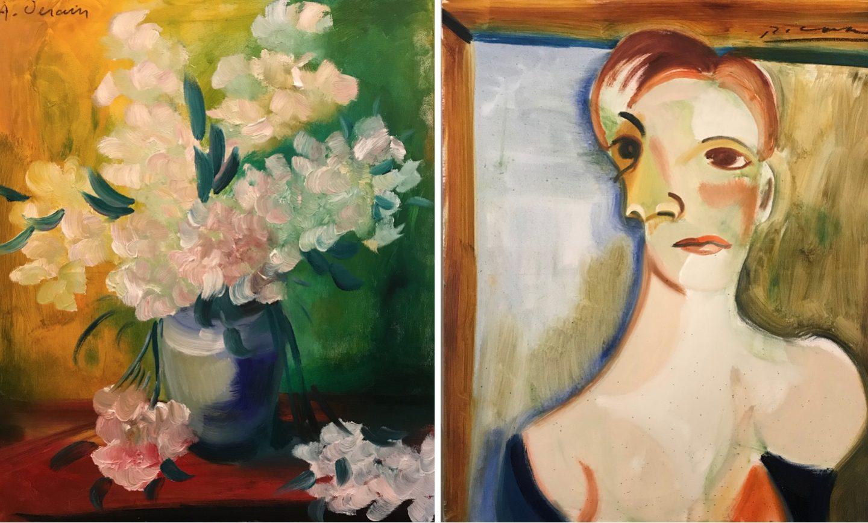 Afdøde kunstnere malede 10 smukke værker gennem mediet Florencio i Olsbækken