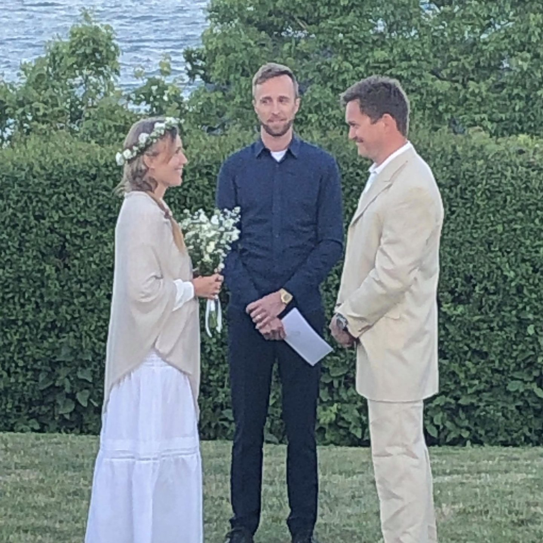 Det første ægtepar er blevet viet