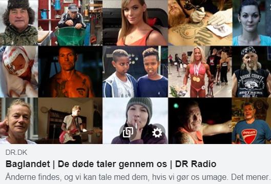 """Interview i DR P1 i radioprogrammet """"Baglandet"""""""